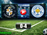 Luton Town 0-4 Leicester City