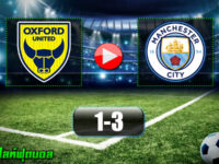 Oxford United 1-3 Manchester City