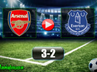 Arsenal 3-2 Everton